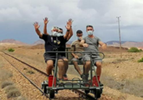 Vélo Rail à Dasbiyo